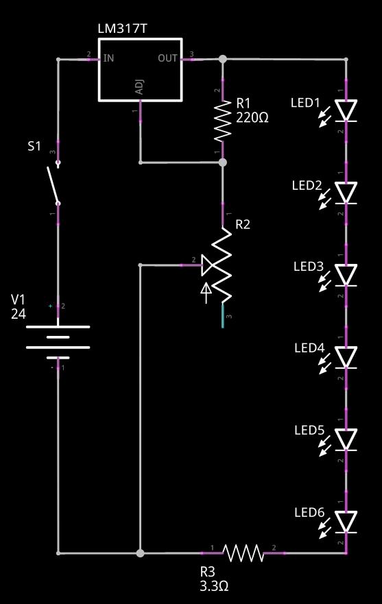 Circuit concret