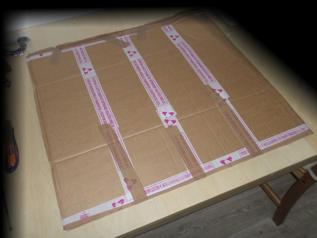 Carton à plat