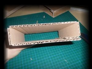 Pliage externe de la structure