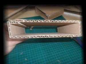 Pliage interne de la structure