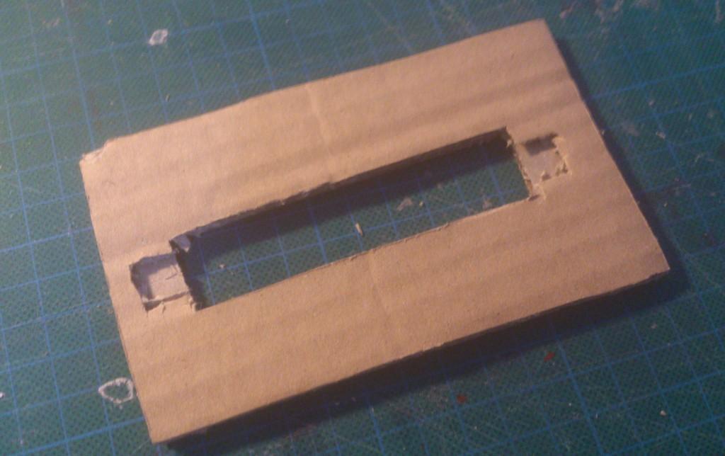 La deuxième couche de carton
