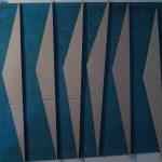 Les triangles présents dans les murs