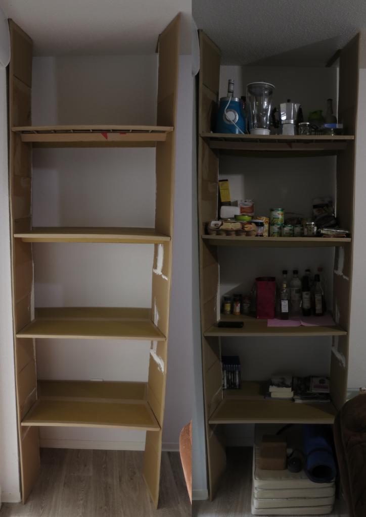 Vue générale de l'armoire